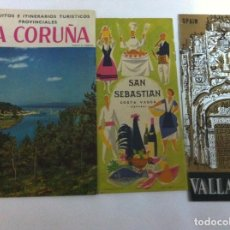 Folletos de turismo: TURISMO - 3 FOLLETOS. Lote 146226594