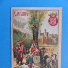 Folletos de turismo: NAVARRA - PROGRAMA GEOGRAFIA POPULAR DE ESPAÑA - AÑO 1902. Lote 147468650
