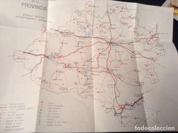 Folletos de turismo: Soria Mapa turistico y rutas de interes - Foto 2 - 147618457