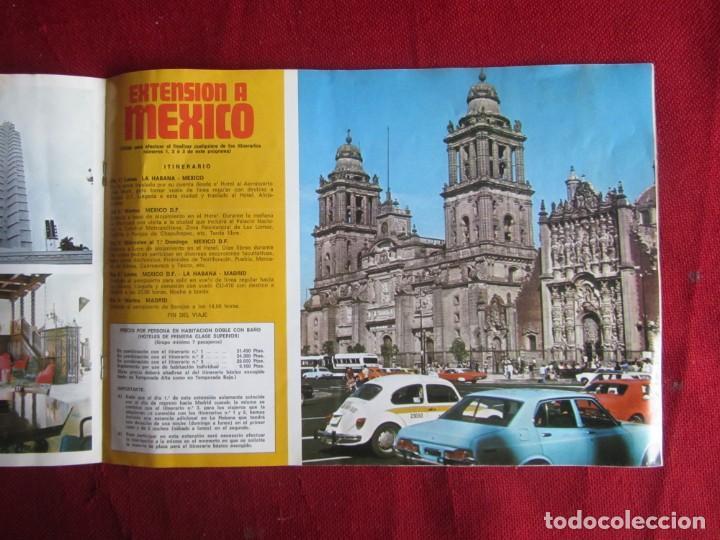 Folletos de turismo: CUBA. IBERIA Y CUBANA. 1980 - Foto 3 - 147936550