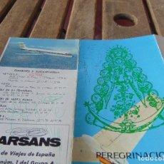 Folletos de turismo: FOLLETO PEREGRINACION ROCIERA A LOS SANTUARIOS MARIANOS DE AUSTRIA Y POLONIA 1975. Lote 148030010