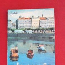 Folletos de turismo: FOLLETO TURISTICO. LA CORUÑA, ESPAGNE. Lote 148207018