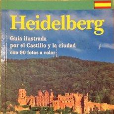 Folletos de turismo: GUIA, MAPA TURISTICO HEIDELBERG.. Lote 148243338