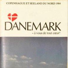 Folletos de turismo: GUIA, MAPA TURISTICO DINAMARCA. AÑO 1984. IDIOMA FRANCÉS.. Lote 148244062