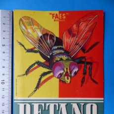 Folletos de turismo: VALENCIA - PROGRAMA OFICIAL FALLAS PUBLICIDAD DETANO D.D.T. INSECTICIDA DOMESTICO - AÑO 1956. Lote 148261578