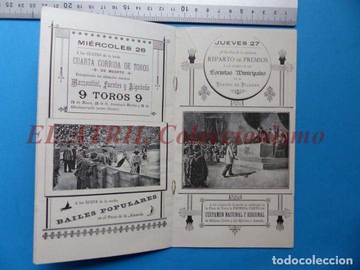Folletos de turismo: PROGRAMA OFICIAL - VALENCIA - GRAN FERIA DE JULIO - AÑO 1899 - Foto 7 - 148287502
