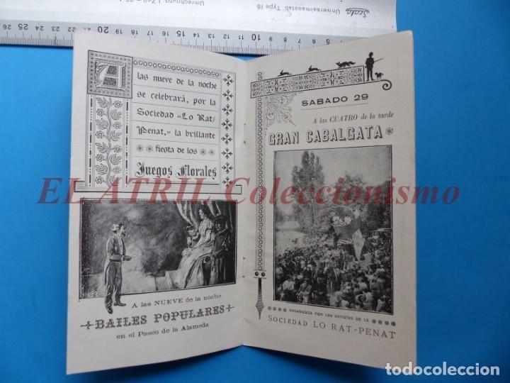 Folletos de turismo: PROGRAMA OFICIAL - VALENCIA - GRAN FERIA DE JULIO - AÑO 1899 - Foto 9 - 148287502