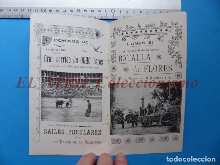 Folletos de turismo: PROGRAMA OFICIAL - VALENCIA - GRAN FERIA DE JULIO - AÑO 1899 - Foto 11 - 148287502
