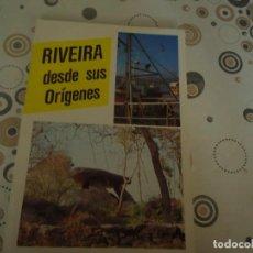 Folletos de turismo: RIVEIRA DESDE SUS ORIGENES. Lote 148466886