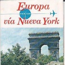 Folletos de turismo: FOLLETO TURISMO EDITADO POR PAN AMERICAN . Lote 149853838