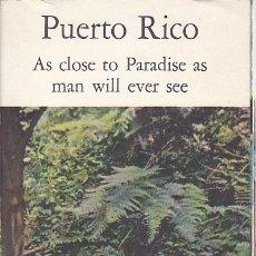 Folletos de turismo: FOLLETO TURISMO EDITADO POR PAN AMERICAN PUERTO RICO. Lote 149853898