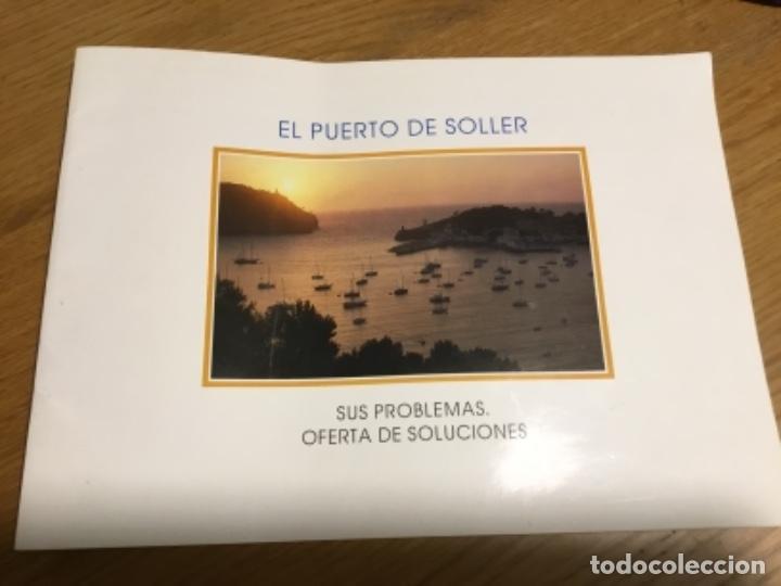 MARINA PORT DE SÓLLER PROPUESTA DE CLUB NÁUTICO (Coleccionismo - Folletos de Turismo)