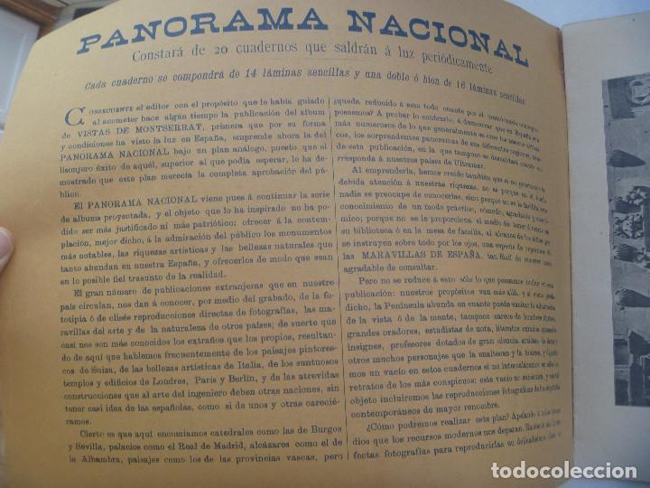 Folletos de turismo: PANOMA NACIONAL. BELLEZAS DE ESPAÑA Y SUS COLONIAS, Nº 1 : FILIPINAS, SEVILLA, ETC. SIGLO XIX - Foto 2 - 150096270