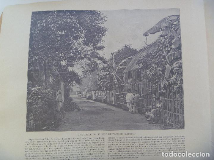 Folletos de turismo: PANOMA NACIONAL. BELLEZAS DE ESPAÑA Y SUS COLONIAS, Nº 1 : FILIPINAS, SEVILLA, ETC. SIGLO XIX - Foto 4 - 150096270