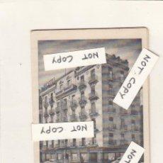 Folletos de turismo: HOTEL MORA.MADRID- HOTEL SUIZO.BARCELONA.FOLLETO PLEGABLE PUBLICITARIO.. Lote 150279250