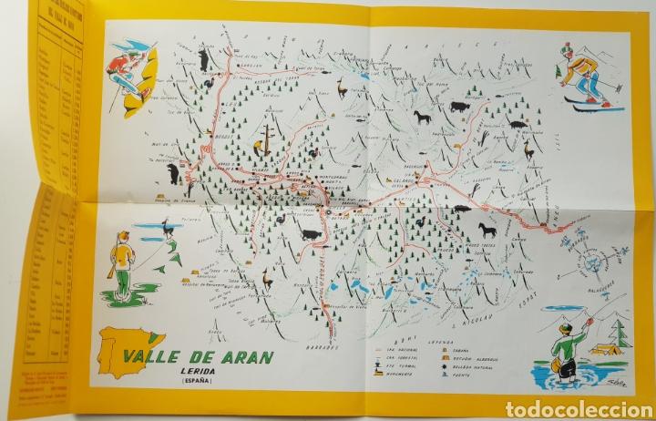 Turistico Valle De Aran Mapa.Mapa Turistico Del Valle De Aran