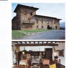 Folhetos de turismo: PARADOR MUÑATONES (VIZCAYA) - COLECCIÓN ESPAÑA MONUMENTAL. Lote 151243814