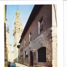 Folhetos de turismo: PARADOR SANTO DOMINGO DE LA CALZADA (LOGROÑO) - COLECCIÓN ESPAÑA MONUMENTAL. Lote 151243886