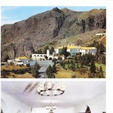 Folhetos de turismo: PARADOR CRUZ DE TEJEDA (LAS PALMAS) - COLECCIÓN ESPAÑA MONUMENTAL. Lote 151244206