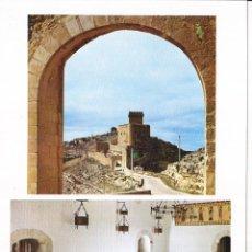Folhetos de turismo: PARADOR MARQUES DE VILLENA (CUENCA) COLECCIÓN ESPAÑA MONUMENTAL. Lote 151244554