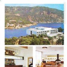 Folhetos de turismo: PARADOR COSTA BRAVA (GERONA) COLECCIÓN ESPAÑA MONUMENTAL. Lote 151244622