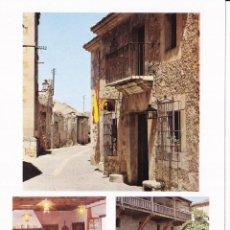 Folhetos de turismo: PARADOR PINTOR ZULOAGA (SEGOVIA) COLECCIÓN ESPAÑA MONUMENTAL. Lote 151244670
