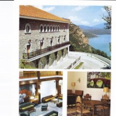 Folhetos de turismo: PARADOR VICH (BARCELONA) COLECCIÓN ESPAÑA MONUMENTAL. Lote 151244730