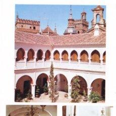Folhetos de turismo: PARADOR ZURBARÁN (CÁCERES) COLECCIÓN ESPAÑA MONUMENTAL. Lote 151244790