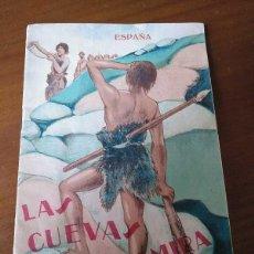 Folletos de turismo: LAS CUEVAS DE ALTAMIRA 1928 ANTIGUO FOLLETO PATRONATO NACIONAL DE TURISMO H. OBERMAIER. Lote 151748514