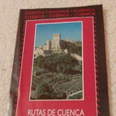 Folletos de turismo: RUTAS DE CUENCA 2001 RUTAS DE LA MANCHA. Lote 153263276