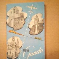 Folletos de turismo: GUÍA GANDA DE BARCELONA Y MALLORCA, AÑOS 40. Lote 153380002