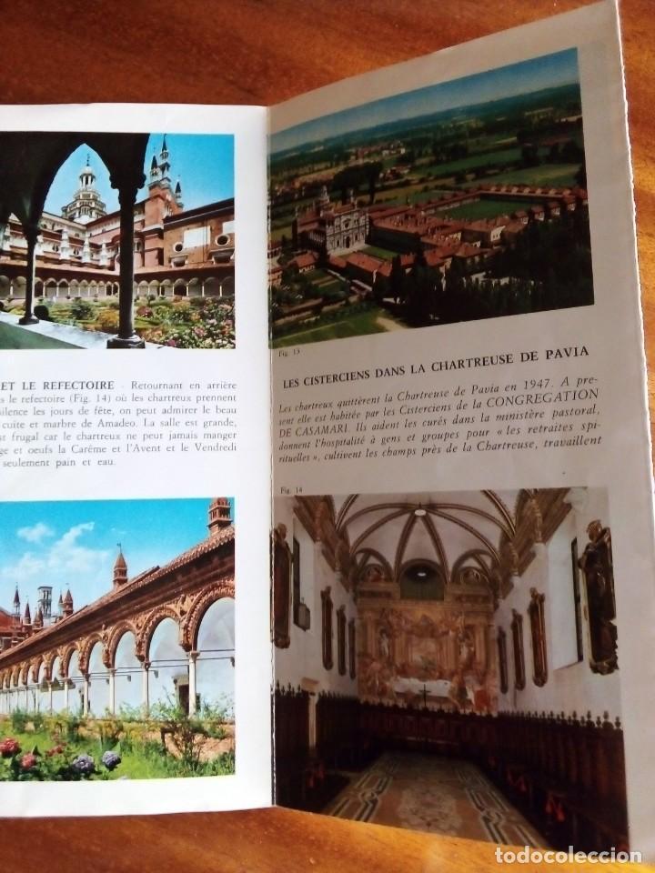Folletos de turismo: La Chartreuse de Pavia. 23x12cm 8 págs y 8 ilustraciones a color - Foto 2 - 154484154