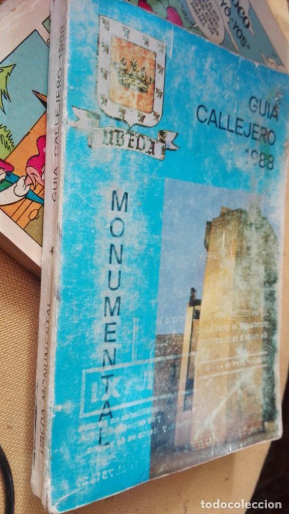 GUIA CALLEJERO UBEDA 1988 (Coleccionismo - Folletos de Turismo)
