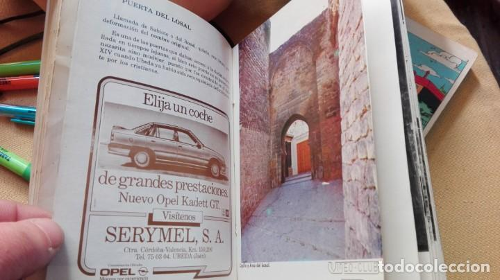 Folletos de turismo: guia callejero ubEDA 1988 - Foto 2 - 154772750