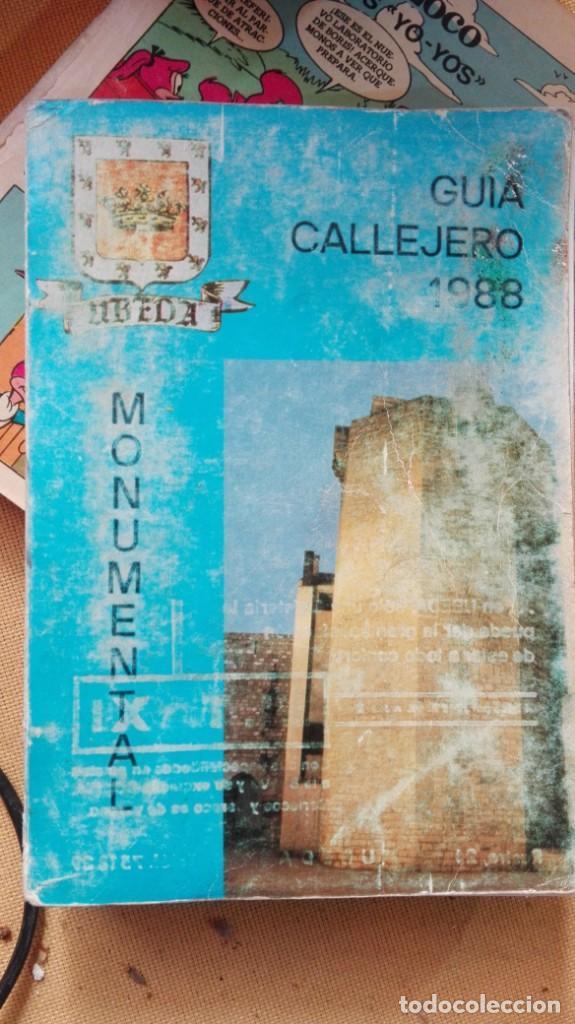 Folletos de turismo: guia callejero ubEDA 1988 - Foto 4 - 154772750