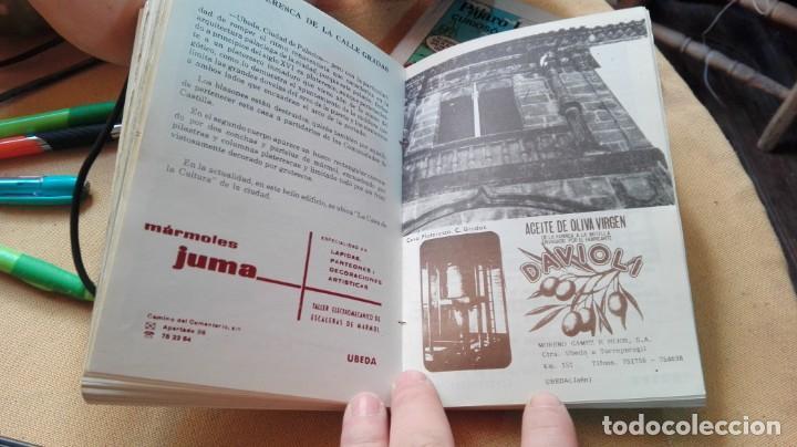 Folletos de turismo: guia callejero ubEDA 1988 - Foto 5 - 154772750