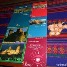 Folletos de turismo: CASTILLA Y LEÓN MUSEOS, RUTA DEL DUERO, TURISMO ECOLÓGICO, CAMPINGS, PROMOCIÓN TURÍSTICA CON REGALO.. Lote 155247582