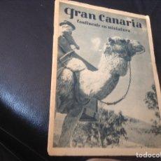 Brochures de tourisme: GRAN CANARIA CONTINENTE EN MINIATURA. Lote 156151402