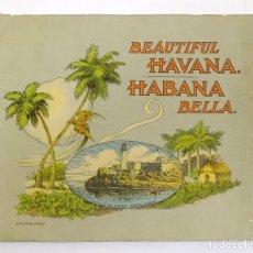 Folletos de turismo: ANTIGUO FOLLETO PUBLICITARIO DE TURISMO DE LA HABANA CUBA. Lote 156488798