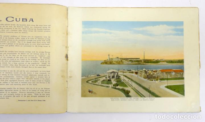 Folletos de turismo: ANTIGUO FOLLETO PUBLICITARIO DE TURISMO DE la Habana Cuba - Foto 2 - 156488798