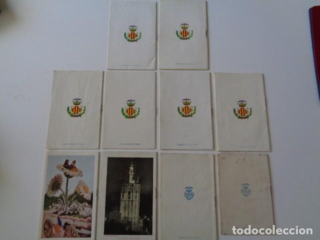 Folletos de turismo: VALENCIA. GRAN FERIA DE JULIO. LOTE DE 10 PROGRAMAS OFICIALES DISTINTOS. AÑOS 1950 - 1959 - Foto 7 - 157243530