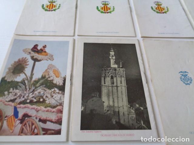 Folletos de turismo: VALENCIA. GRAN FERIA DE JULIO. LOTE DE 10 PROGRAMAS OFICIALES DISTINTOS. AÑOS 1950 - 1959 - Foto 8 - 157243530