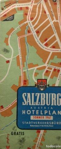 1967 Guía turística. Salzburg. Austria