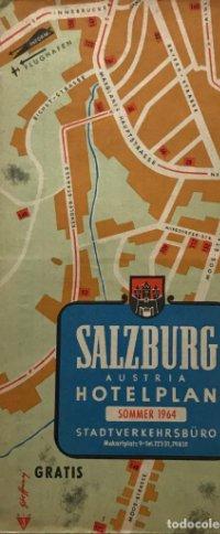 1964 Guía turística. Salzburg. Austria