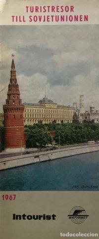 1967 Guía de viaje. Unión Soviética