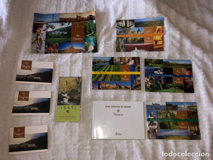 COLECCIÓN NAVARRA (Coleccionismo - Folletos de Turismo)