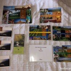 Folletos de turismo: COLECCIÓN NAVARRA. Lote 157942324