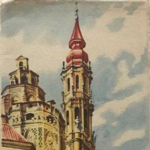 1954 Guía turística. Zaragoza artística