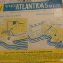 Folletos de turismo: ANTIGUO FOLLETO TURISMO.VIAJES ATLANTIDA'S OFFICES.SANTA CRUZ TENERIFE.1962. Lote 160417958