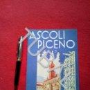 Folletos de turismo: TUBAL ITALIA ASCOLI PICENO 1932 FOLLETO TURISMO FRANCÉS. Lote 160526134